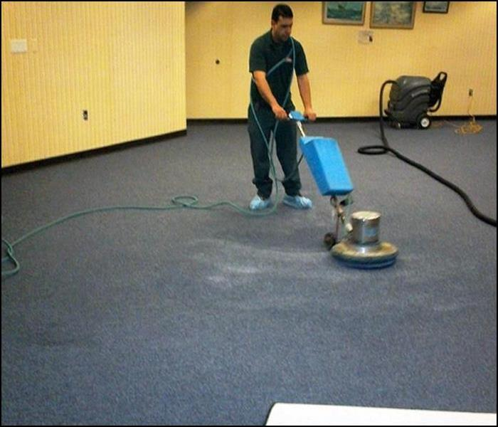 Commercial Showcase Carpet Cleaning & Deodorizing at a Local Library, Stanhope, NJ Before