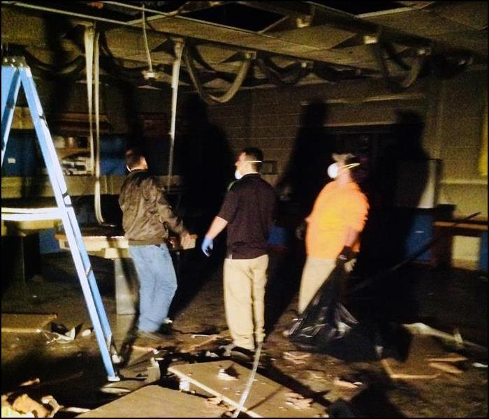 SERVPRO of Northern Sussex County Arrives at Fire Damage at Local High School, Vernon, NJ